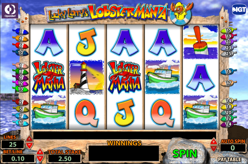 Lucky Larry S Lobstermania Slot 500 Bonus Canada 2020