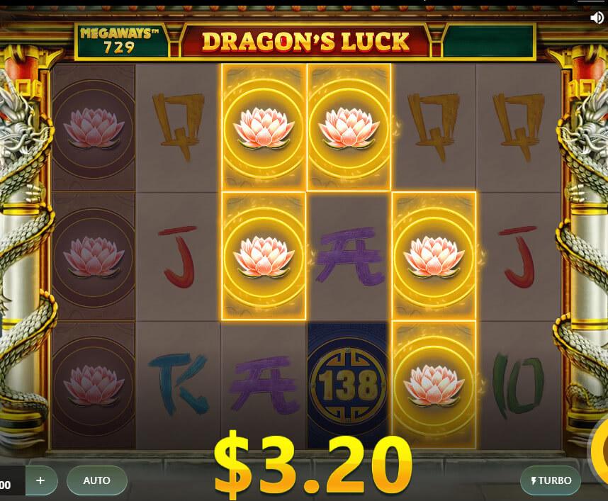 dragons luck megaways slot