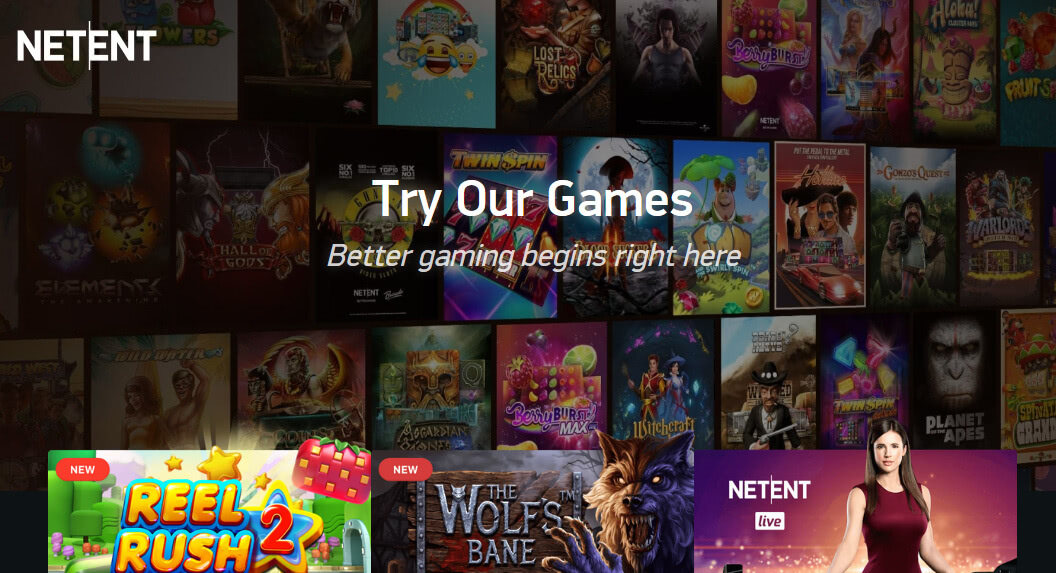 netent game catalogue