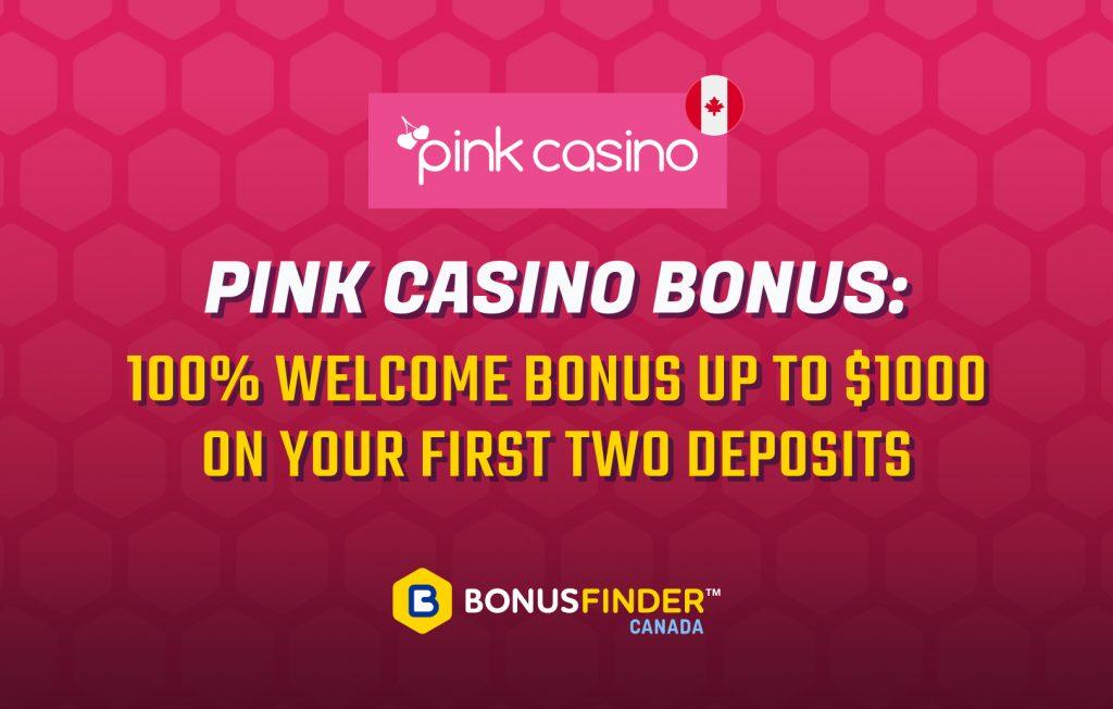 Pink Casino bonus