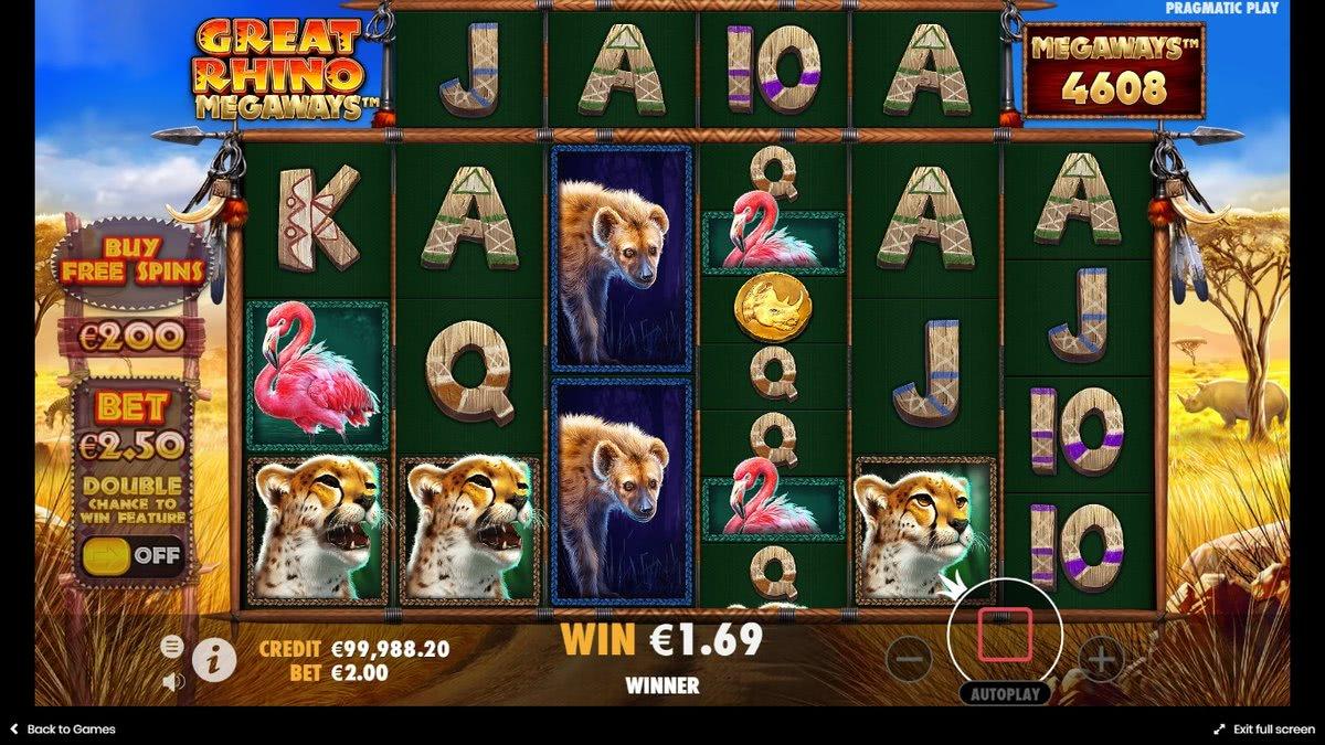 great rhino megaways canada online casinos