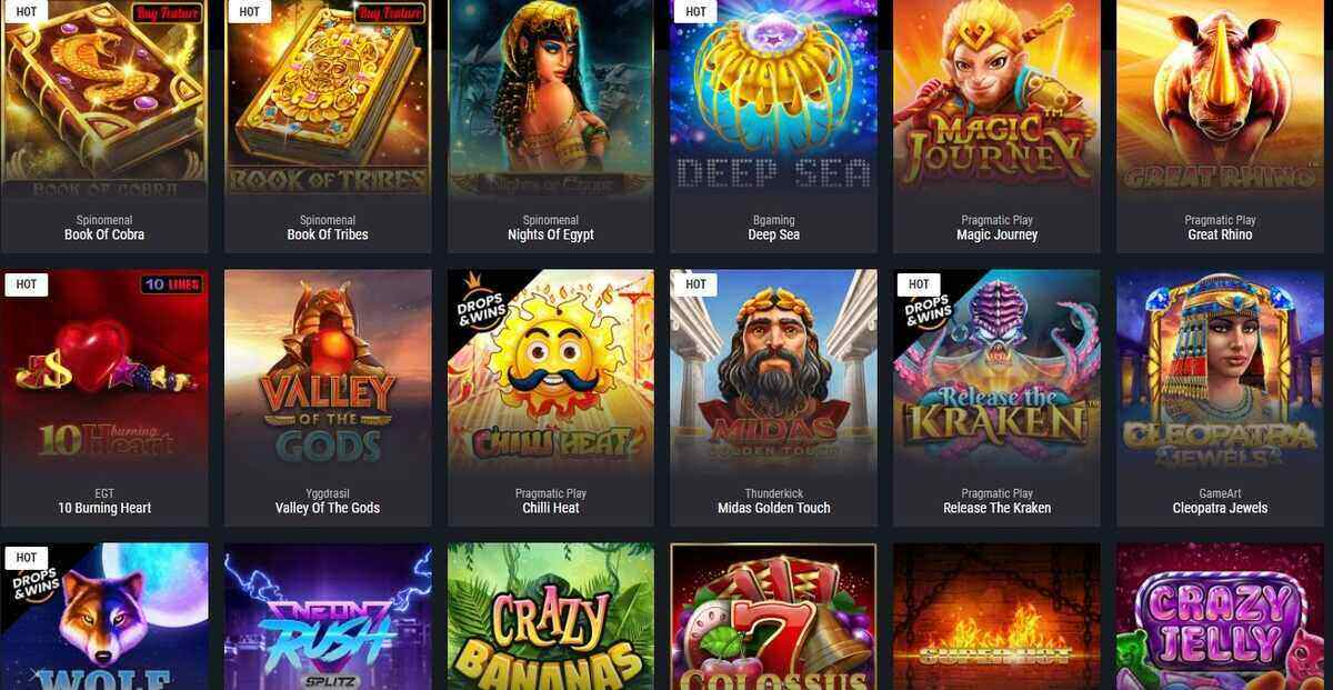 hot slot games in canada