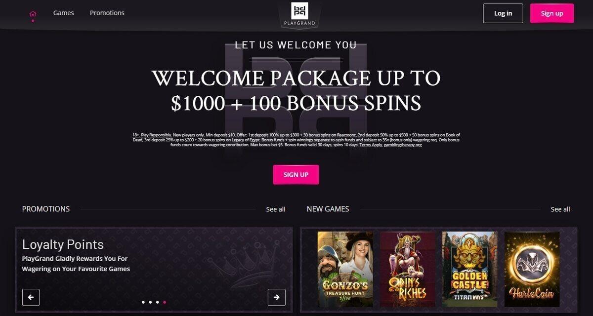 PlayGrand Casino Canada