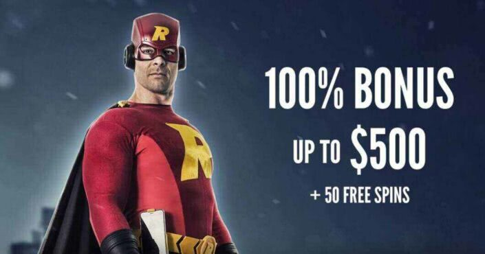 Get $500 in bonus funds plus 50 free spins when you deposit with Rizk