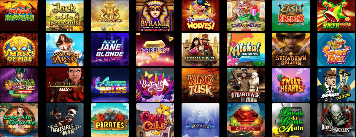 slot games you can play in Canadian casino site