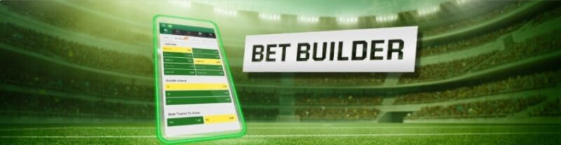 Put together interesting soccer wagers with Unibet's Bet Builder