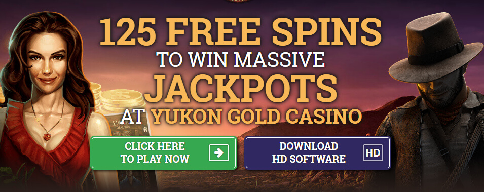 Yukon Gold Free Spins